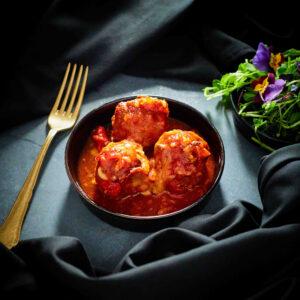 Albondigas Tapas Fusion Meatballs