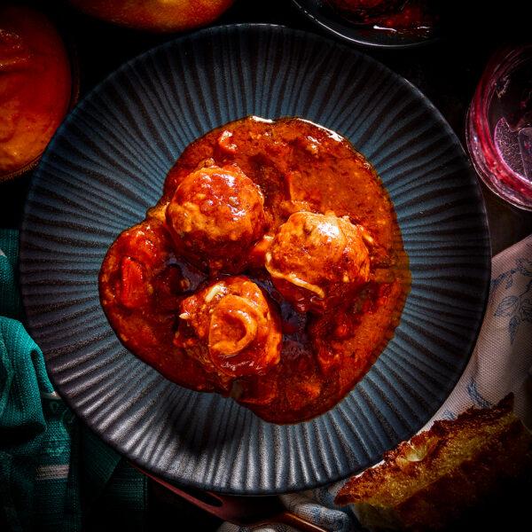 Albondigas Spanish Meatballs