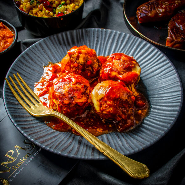 Albondigas Spicy Spanish Meatballs