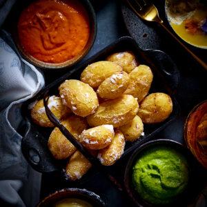 Papas Arrugadas – Salt Baked Canary Island Style Potatoes