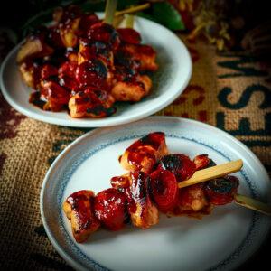 Chicken Chorizo Skewers (2 Skewers)