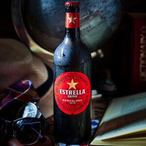Estrella damm spanish beer