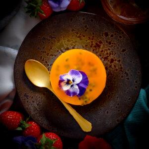 Mango Passionfruit Cheesecake