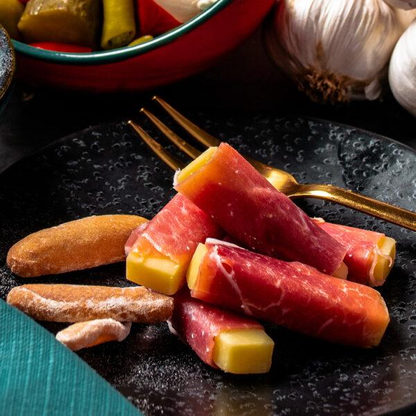 Rollitos - Serrano & Mature Cheese (5 Pieces)