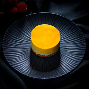 Tapas Fusion Mango & Passionfruit Cheesecake with Seville Orange
