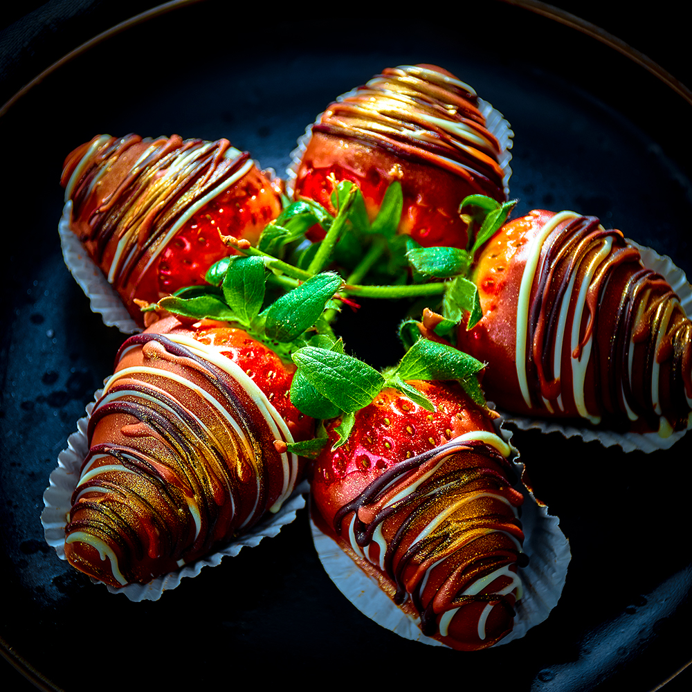 Tapas Fusion Chocolate Dipped Strawberries