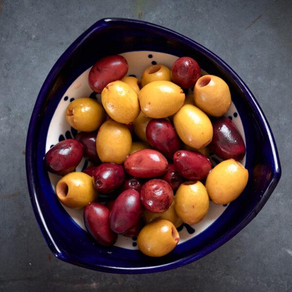 mixed spanish olives