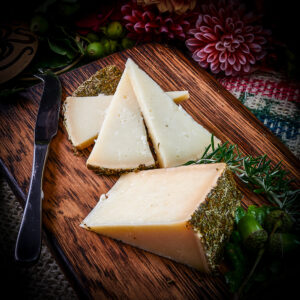 Artisan Spanish Cheese Cured with Rosemary