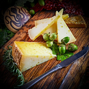 Spanish Artisan Cheese Cured in Olive Oil
