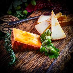 Artisan Spanish Cheese Cured with Paprika
