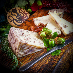Tender Artisan Spanish Cheese with Walnuts