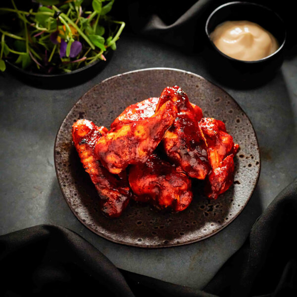 Jumbo Chicken Wings with an Adobo Chilli Glaze (8 Pieces)