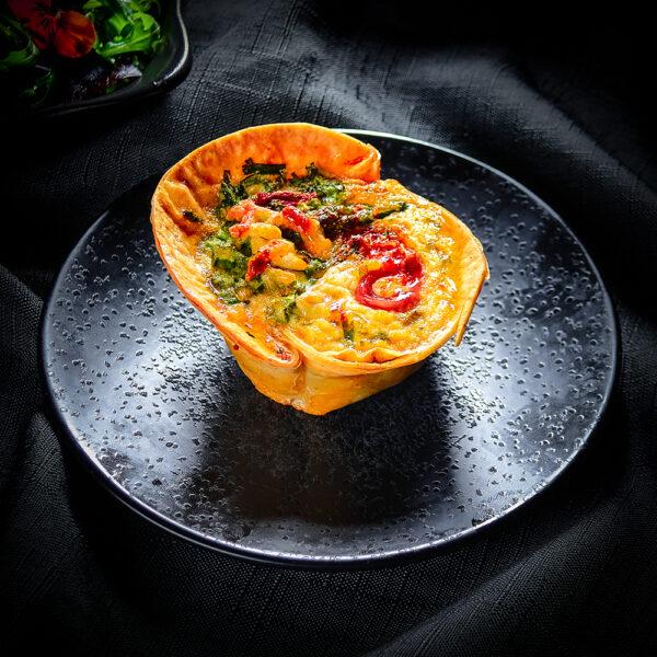 Asapargus & Serrano Ham Tortilla Tart