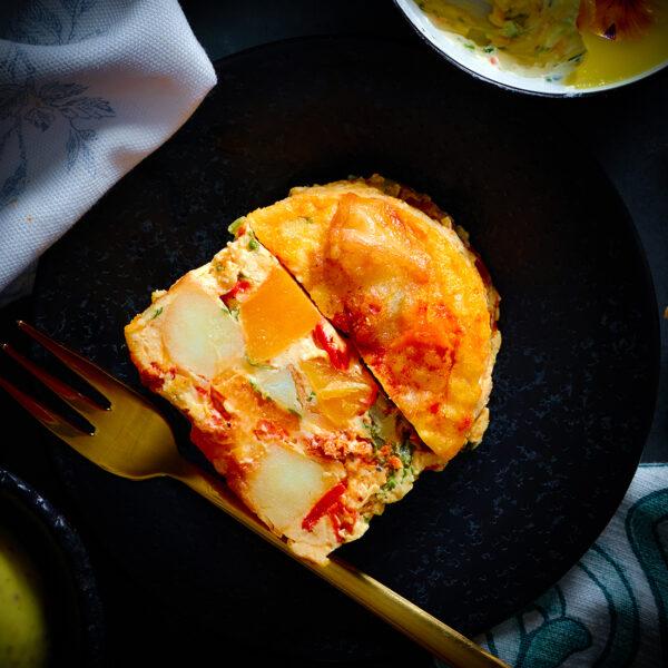 Sweet Potato Fritata