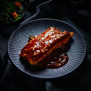 Tapas Fusion Pork Belly Rib Wholegrain Mustard