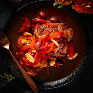 saffron chicken