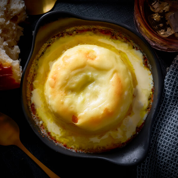 Twice-Baked Cheese Soufflé