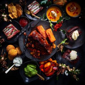 Christmas Festive Menu Tapas Box